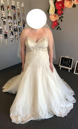 Mori Lee Mori Lee 2609 Wedding Dress 24