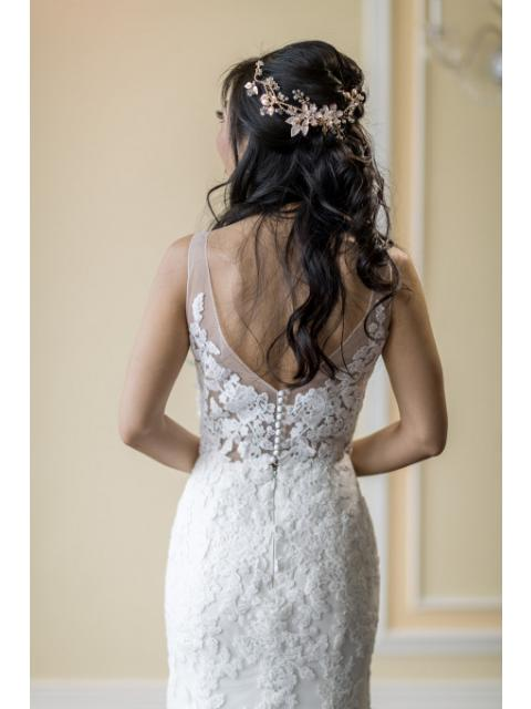 Used Other Custom Design Made By Anomalie Wedding Dress Size 0 400