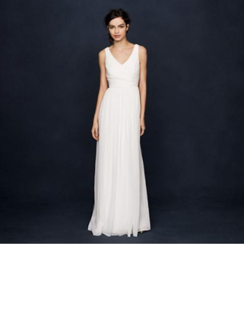 Used Other New J Crew Heidi Champagne Bridesmaid Dress Size 6 260