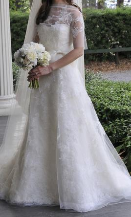 Used Vera Wang Esther Gown Wedding Dress Size 2 7 000