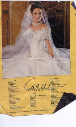 David S Bridal Carmi Couture