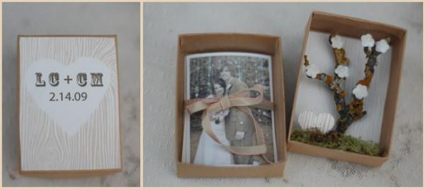 diy wedding diorama