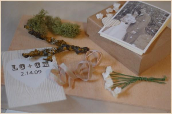 DIY Cherry Tree Wedding Diorama