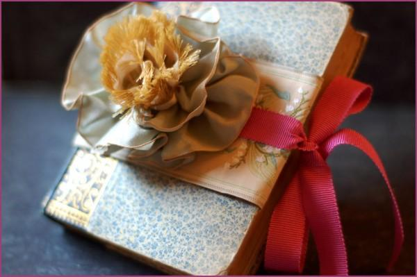 diy ring pillow book