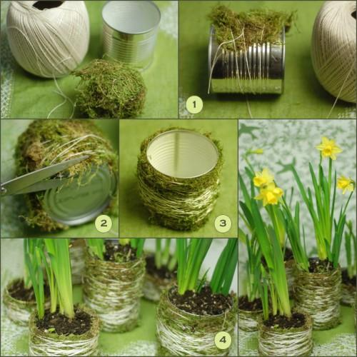 Diy moss wedding centerpieces once wed