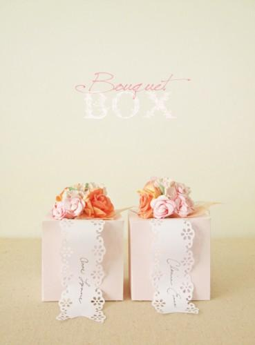 DIY Flower Favor Box