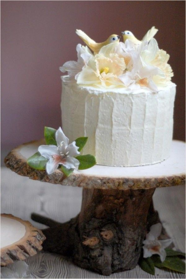 wedding cake tree stump stand diy rustic wedding cake stand once wed 26707