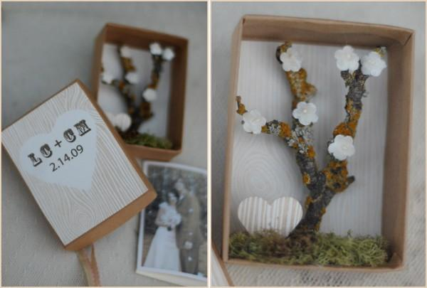 diy cherry tree diorama