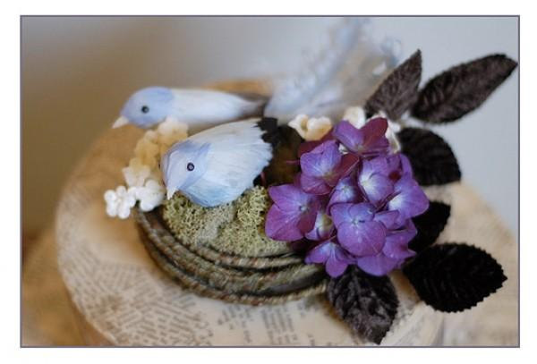DIY Bird Cake Topper
