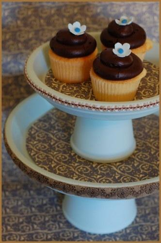 DIY Wedding Cupcake Stand - Once Wed