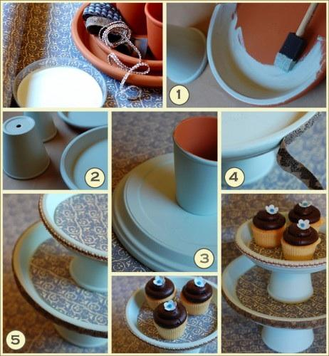 Stackable Cake Plates