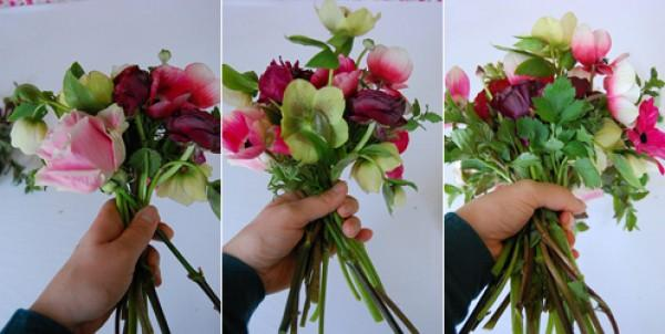 DIY wedding bouquet instructions