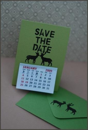 DIY Handmade Save the Dates