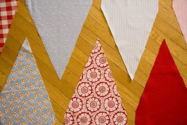 DIY Wedding Pennant Banner