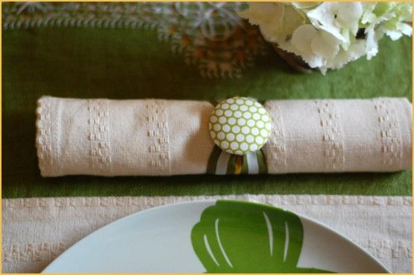 DIY Wedding Napkin Rings Once Wed