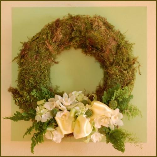 DIY Woodland Wedding Wreath