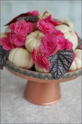 DIY Pumpkin Centerpieces