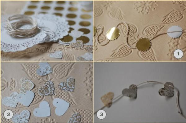 doily wedding ideas
