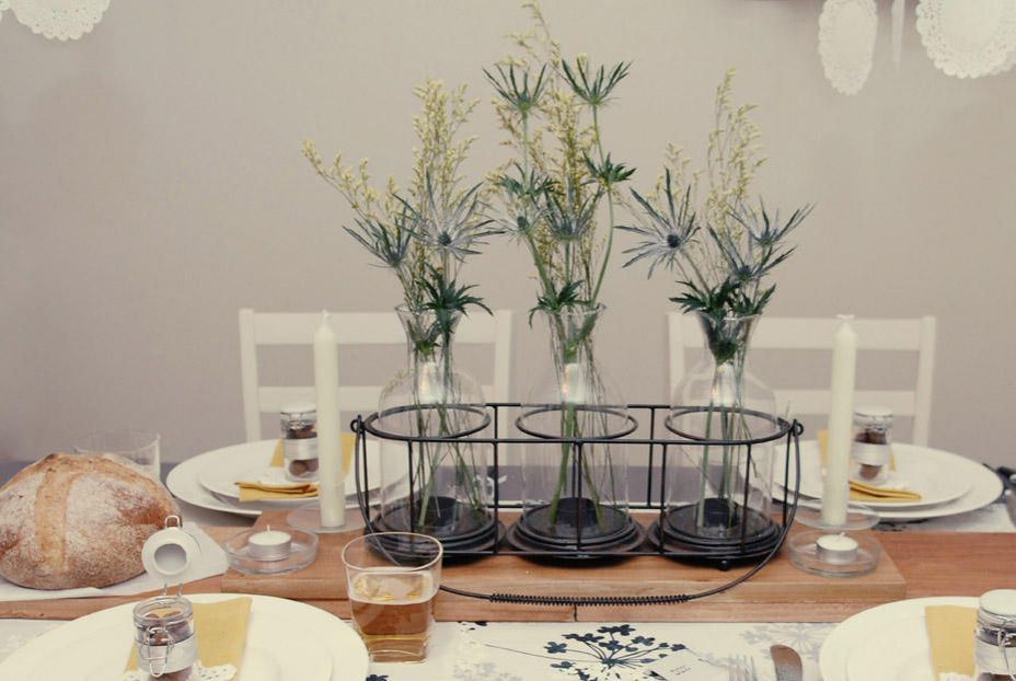 antique wedding centerpieces ideas Adding vertical dimensions to a table