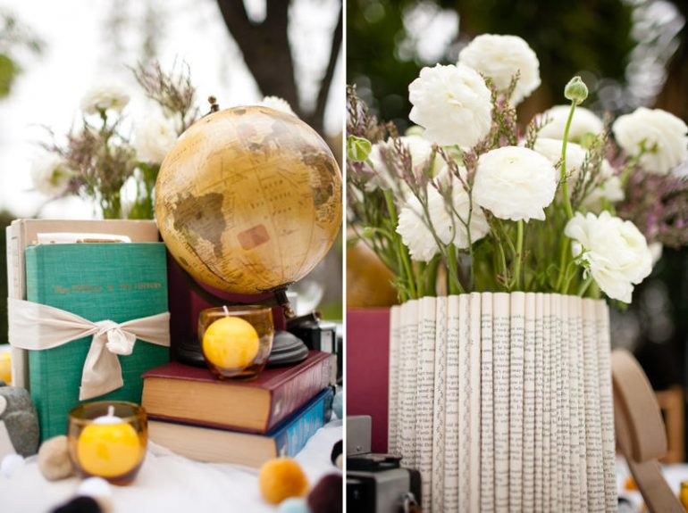 school theme wedding ideas