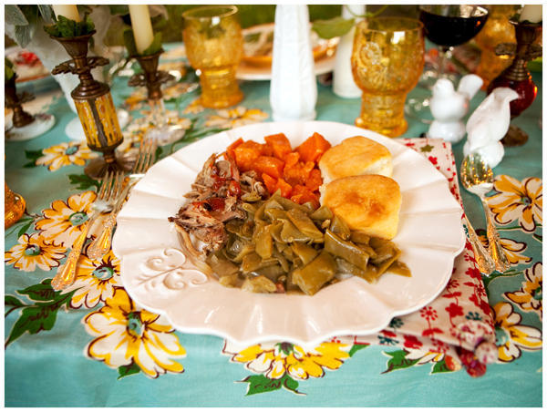 southern-wedding-food