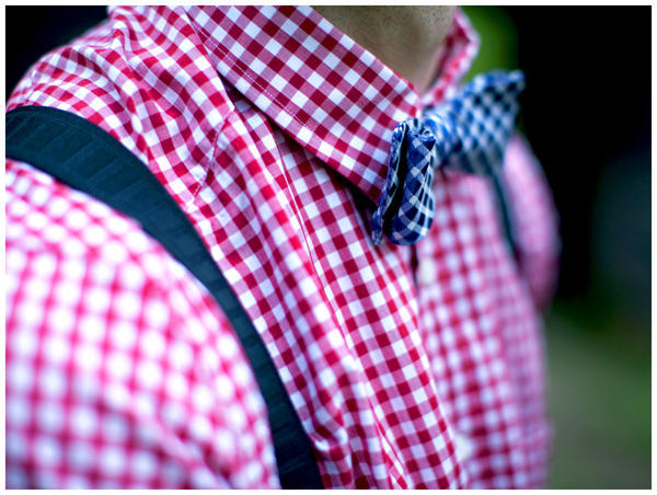plaid groom shirt