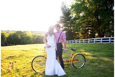 bicycle wedding ideas