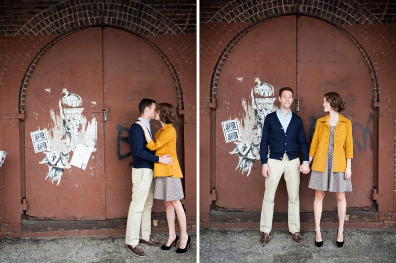 cute brooklyn engagment session ideas
