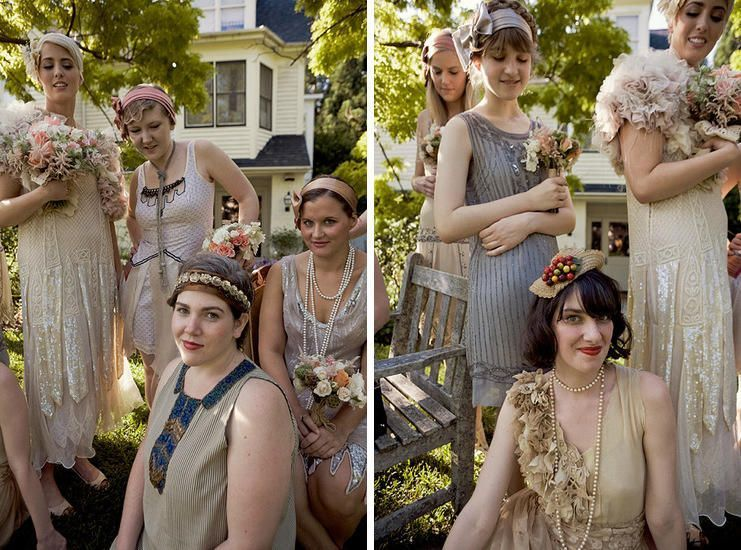 flapper-bridesmaid-dresses