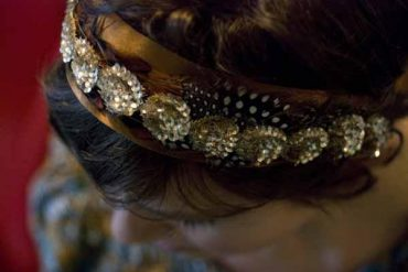 diy wedding headband ideas