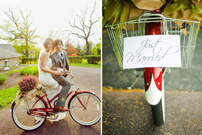 wedding bike ideas