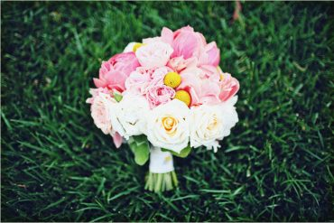 peony wedding bouquet