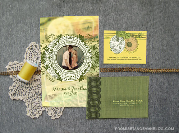 anthropologie wedding invitations