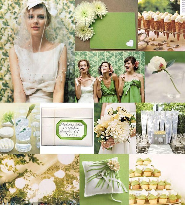 green apple wedding theme