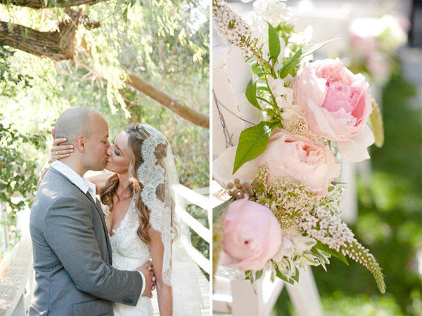Pink Wedding Ideas and Centerpieces Real Weddings Blog Once Wed