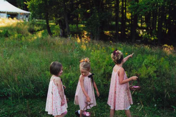 pink-flower-girl-dresses