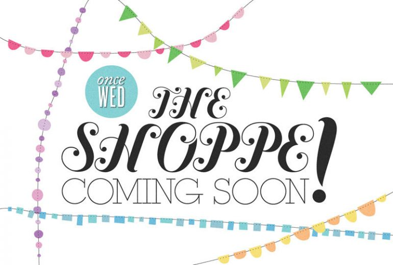 once wed the shoppe