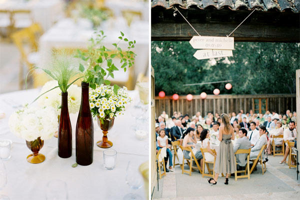 mismatched-wedding-centerpieces