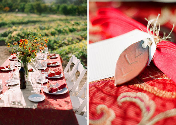 red-reception-table-ideas