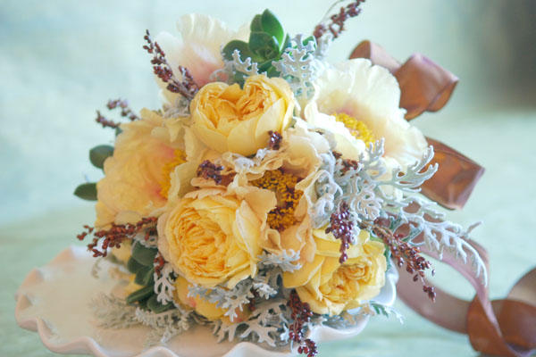 yellow-wedding-bouquet