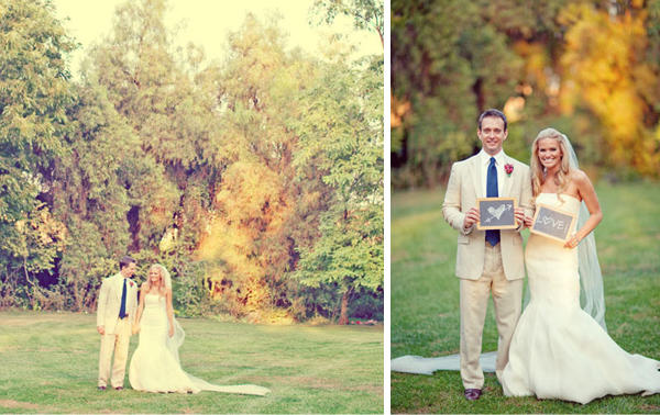 A Sweet Backyard Wedding