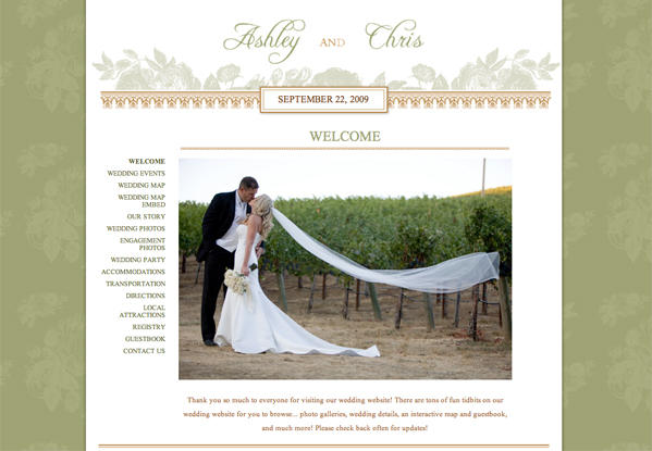 Project Wedding - Once Wed