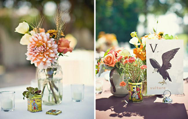 tin-wedding-centerpieces