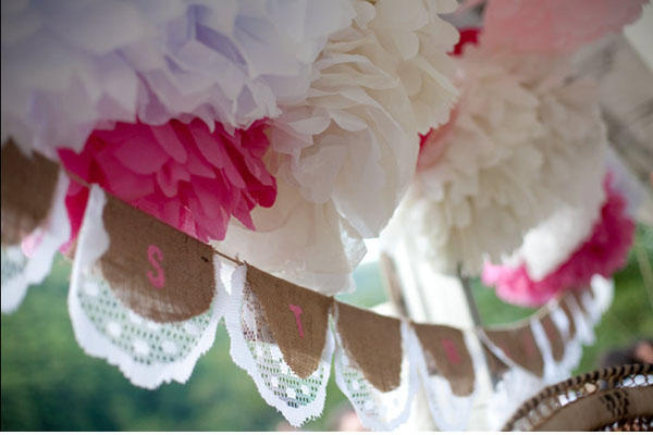 wedding-tissue-pom-poms
