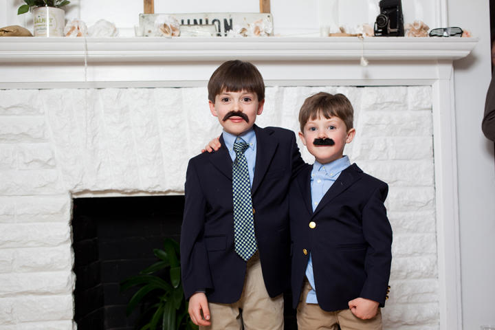 wedding moustaches