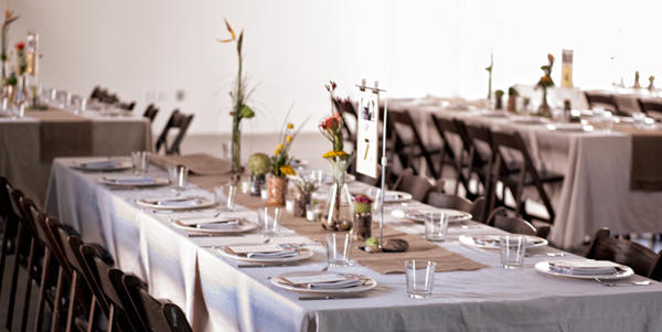 Ace Hotel Wedding Table