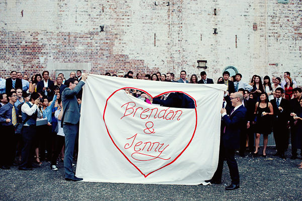 banner wedding ideas