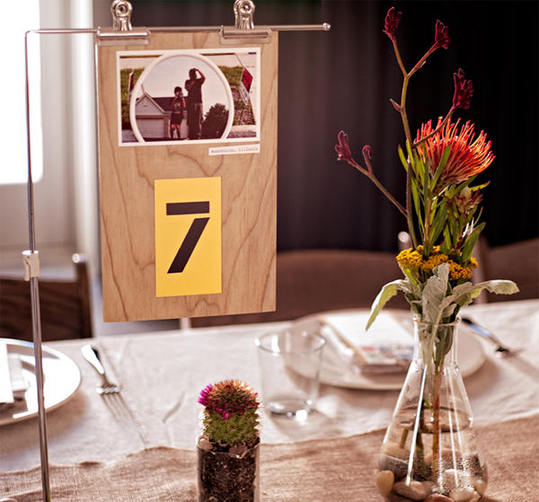 diy table number