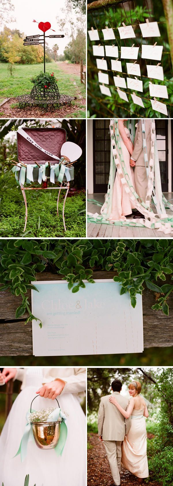 ribbon wedding ideas