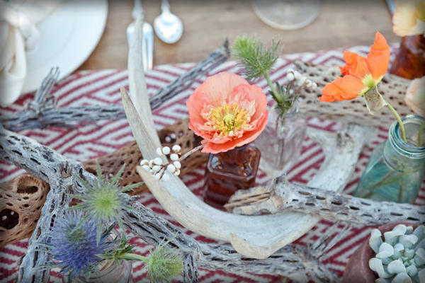 driftwood wedding table